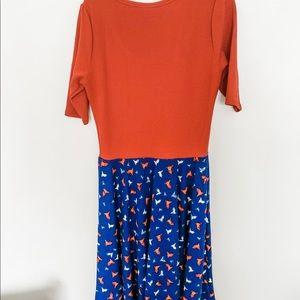 LuLaRoe Dresses - Lularoe Nicole dress, size large